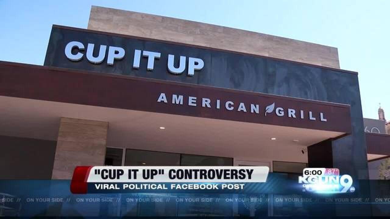 Restaurant closes after FB post backfires
