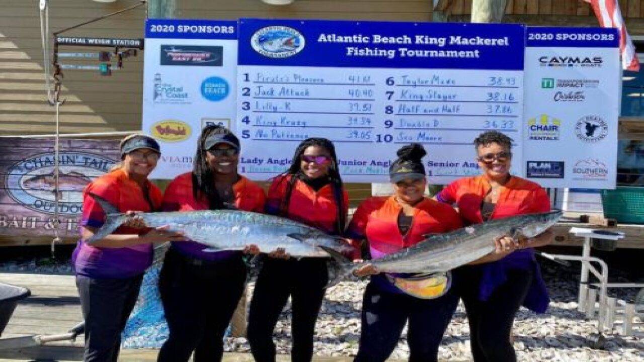 All-Black, All-female Competitive Fishing Team Is Making History