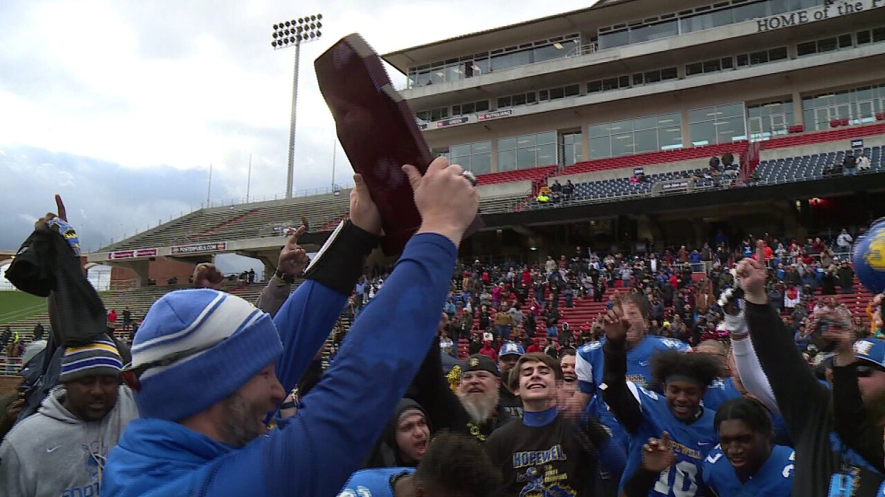 Hopewell gets top high school football honors as VHSL releases all-stateteams