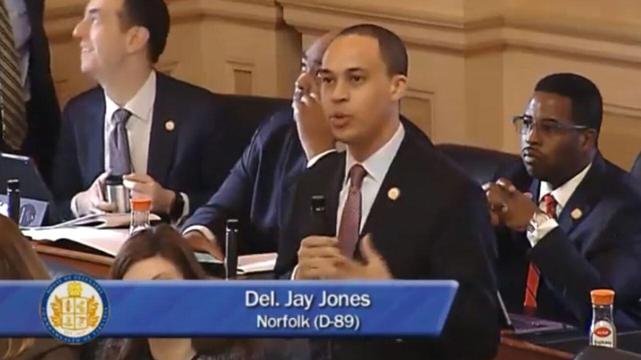 Norfolk Delegate describes racial inequality in very personalway