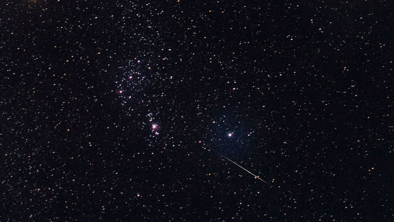 Geminid meteor shower peaks Saturday