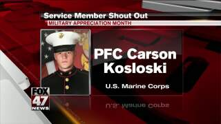 Yes Squad - Service Member Shout Out - Carson Kosloski & Adam Saed