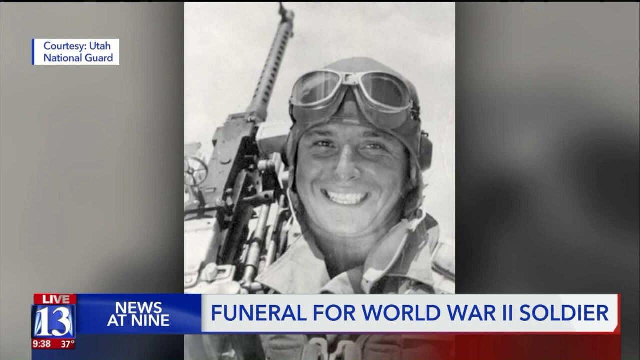 Funeral held in Lewiston for WWII soldier after remains identified