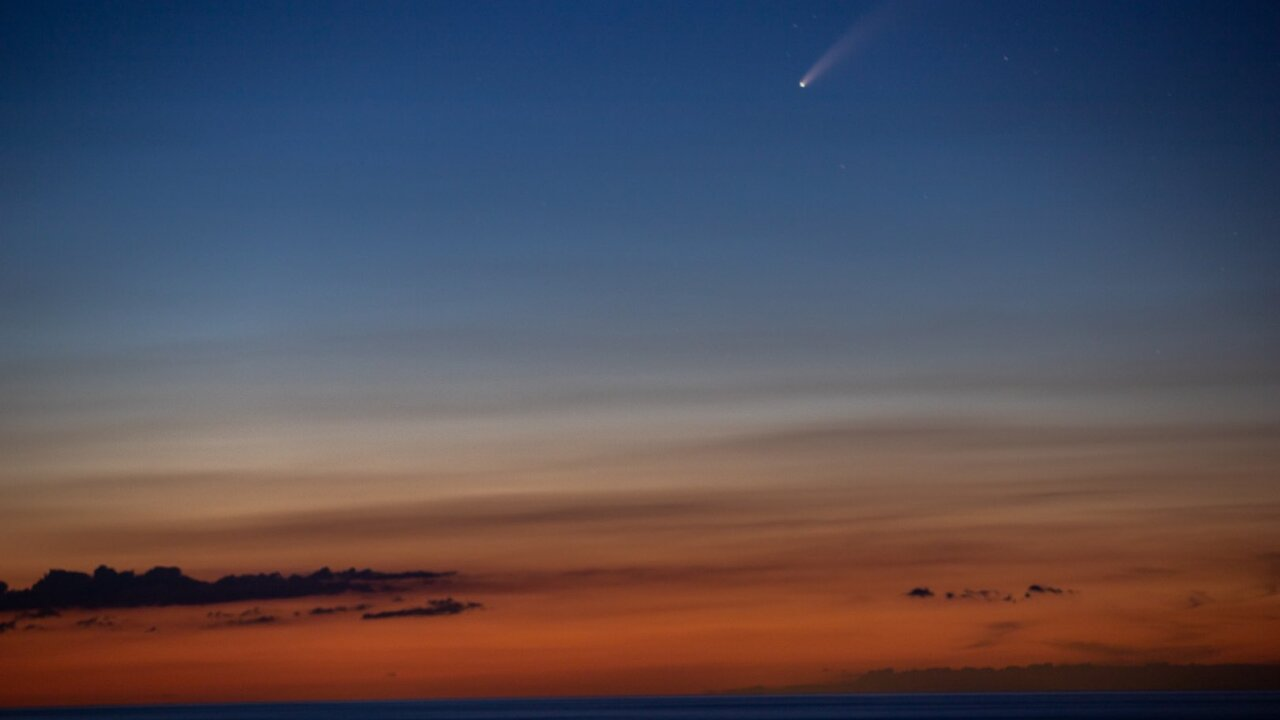 These spectacular pictures capture comet 'NEOWISE' soaring through the sky