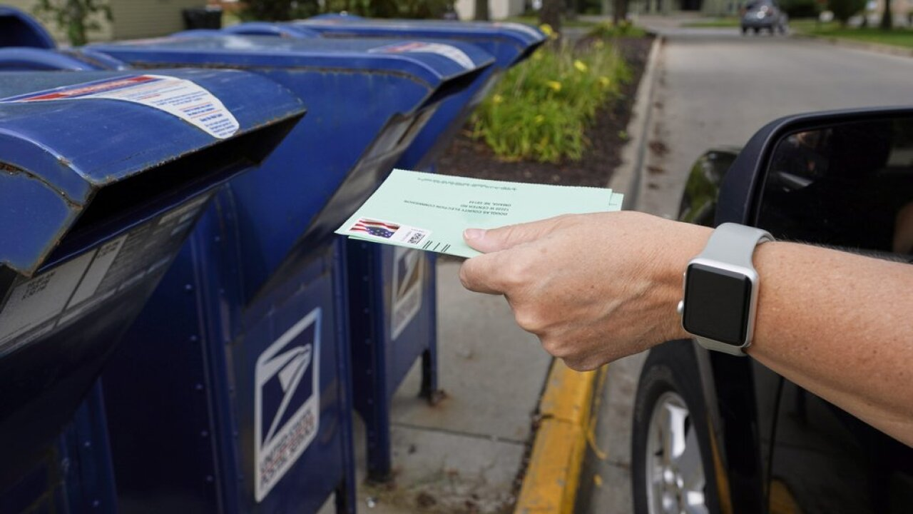 Mail in voting