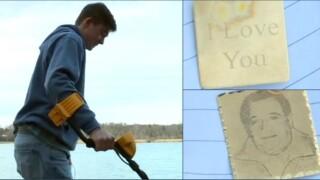 SUCCESS! JMU student solves mystery of 'I Love You' pendant found onriverbank