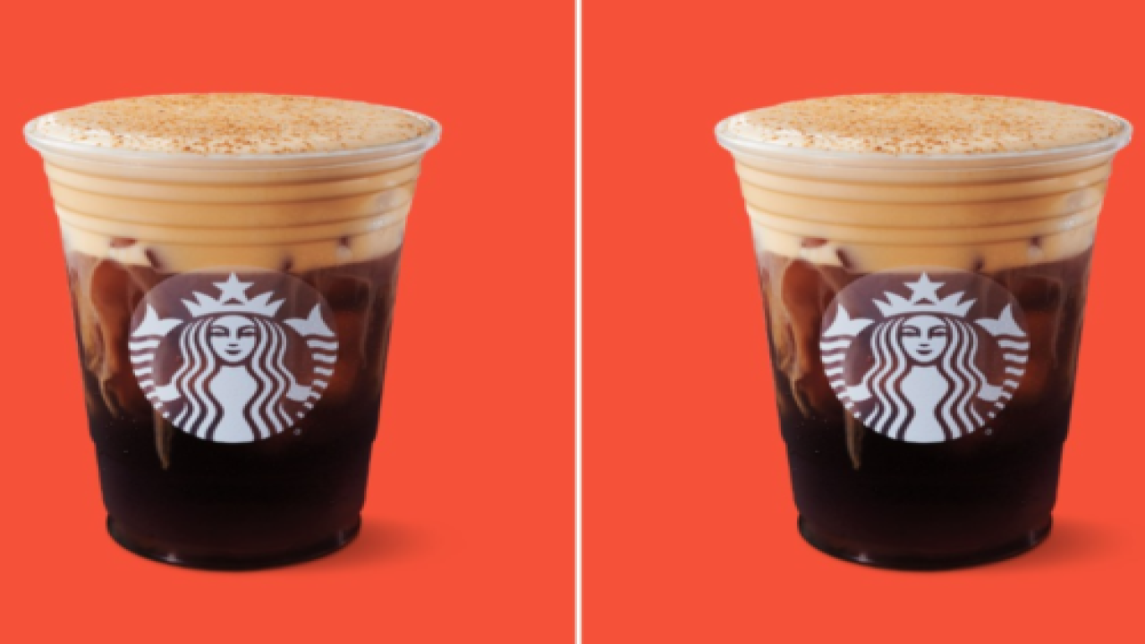 Starbucks Is Now Making Pumpkin Cream Cold Brew