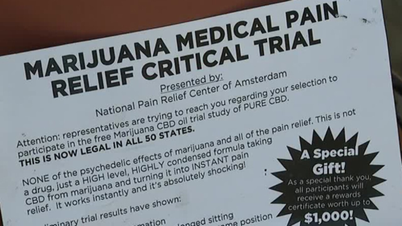 Medical Marijuana Scam Hits The Mid-State
