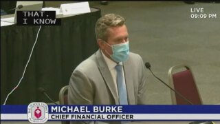 Michael Burke, Palm Beach County School District interim superintendent