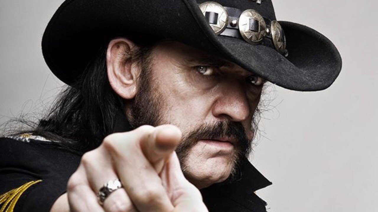 Motrhead's Lemmy, dead at age 70
