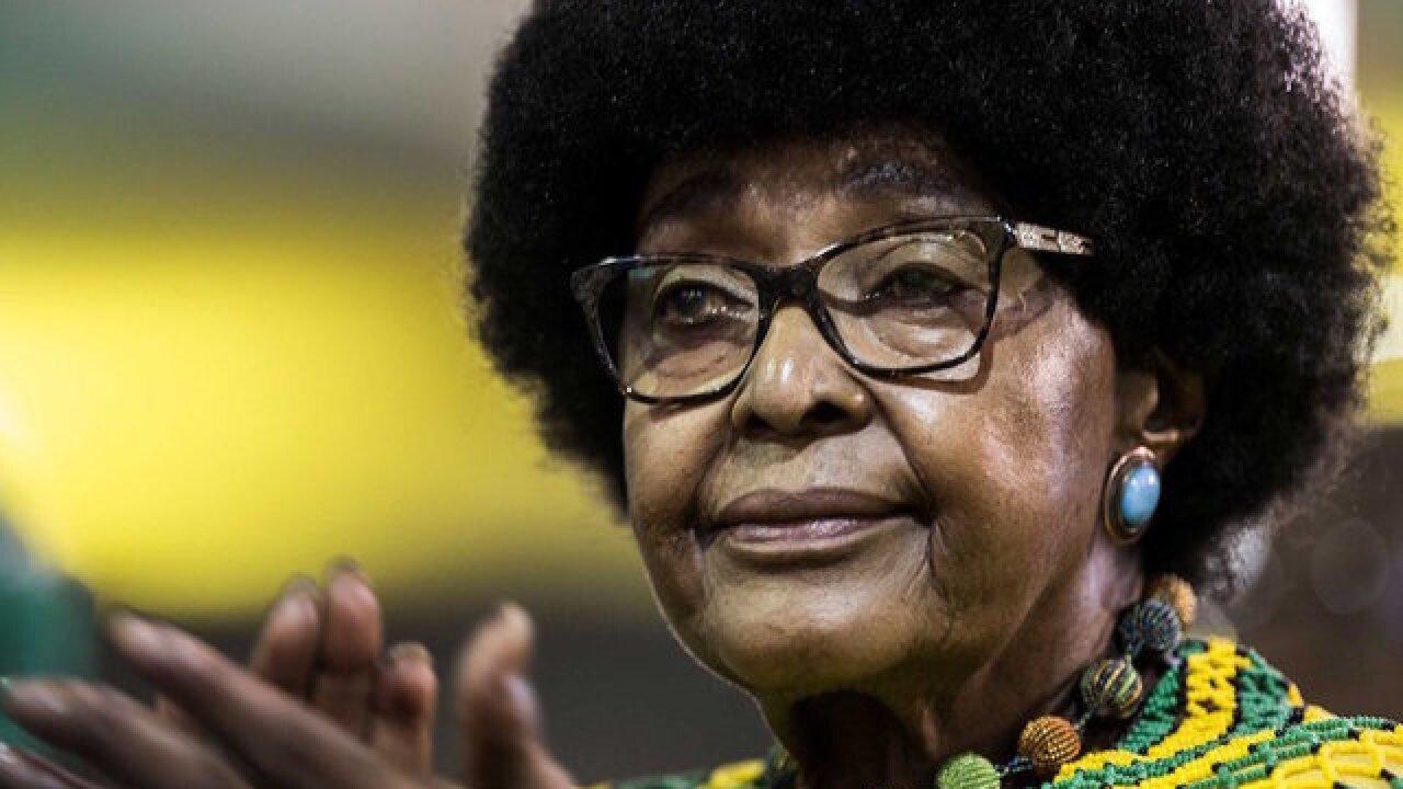Anti-apartheid activist Winnie Mandela dies