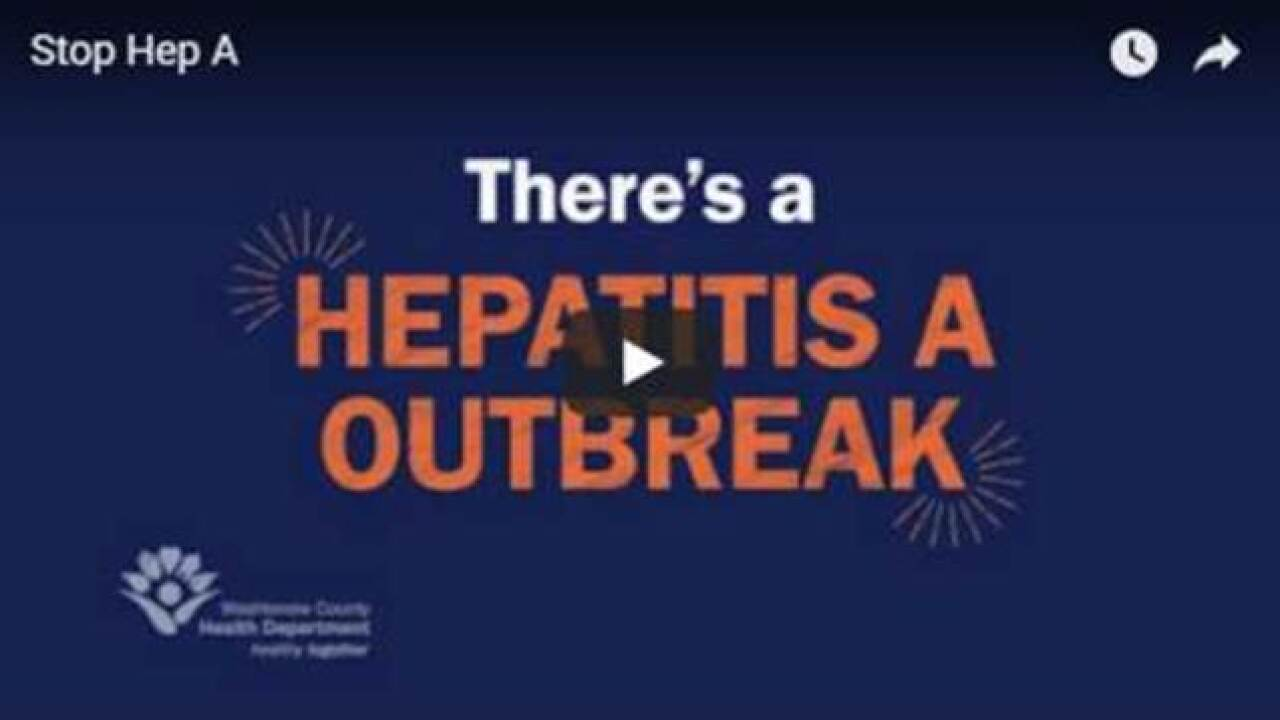 Washtenaw Co. launches 'Stop Hep A' campaign