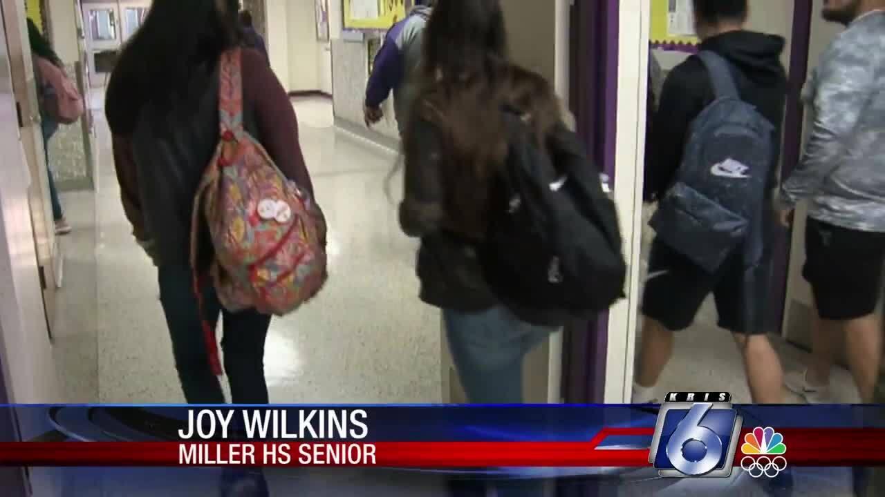 Miller High School students