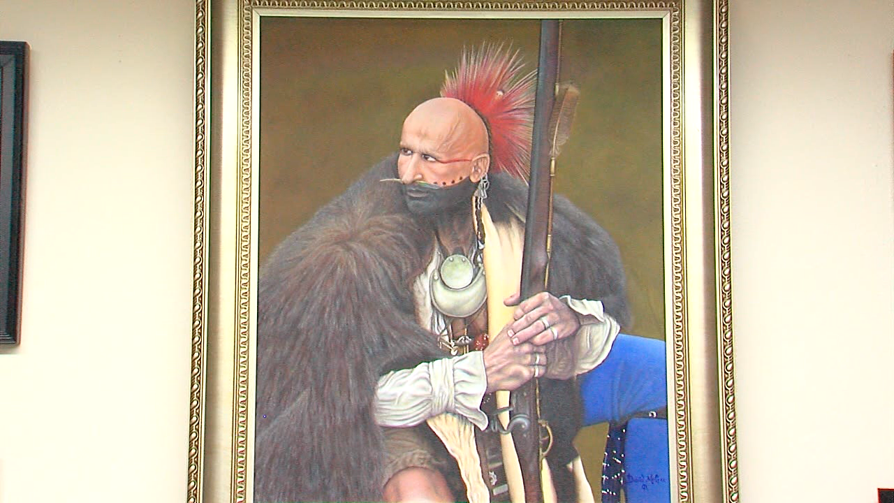 David McGee painting