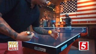 Nashville's Own Competitive Ping Pong Tourneys