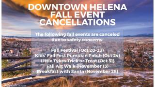 Most Downtown Helena Fall events canceled