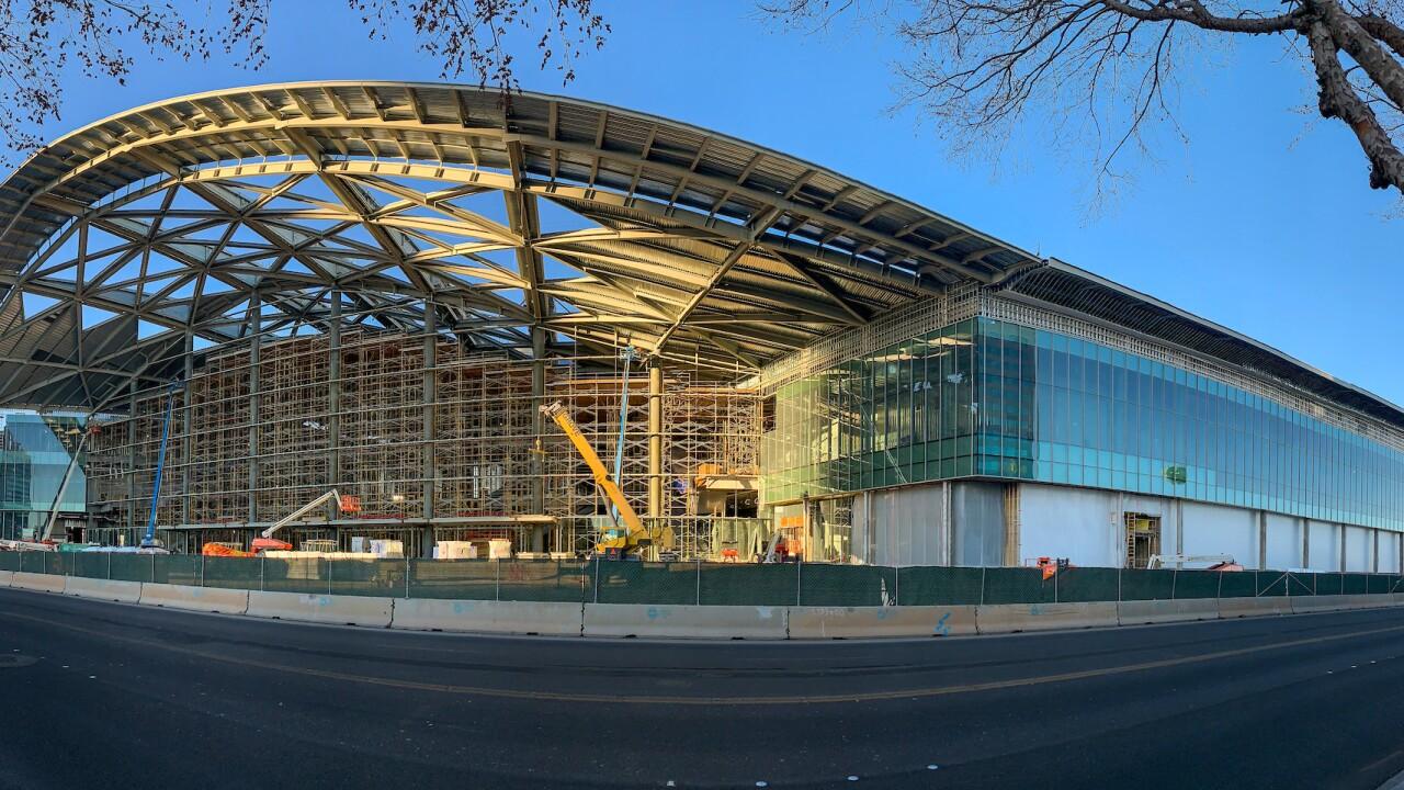 LVCCD construction progress