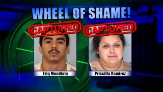 Wheel Of Shame Fugitives Arrested: Eriq Mendiola & Priscilla Ramirez