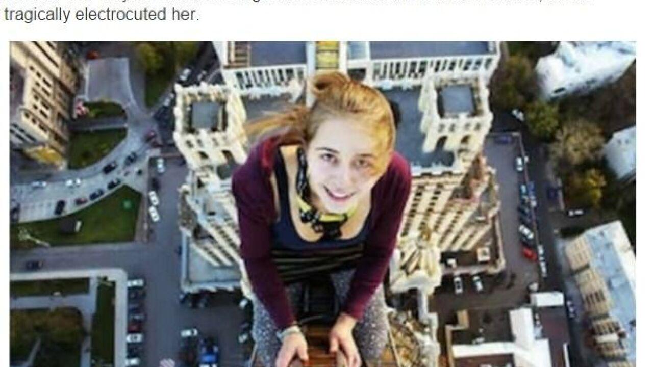 Selfie Danger
