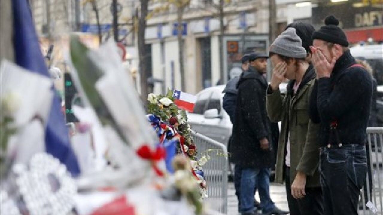 Eagles of Death Metal revisit Paris attack site