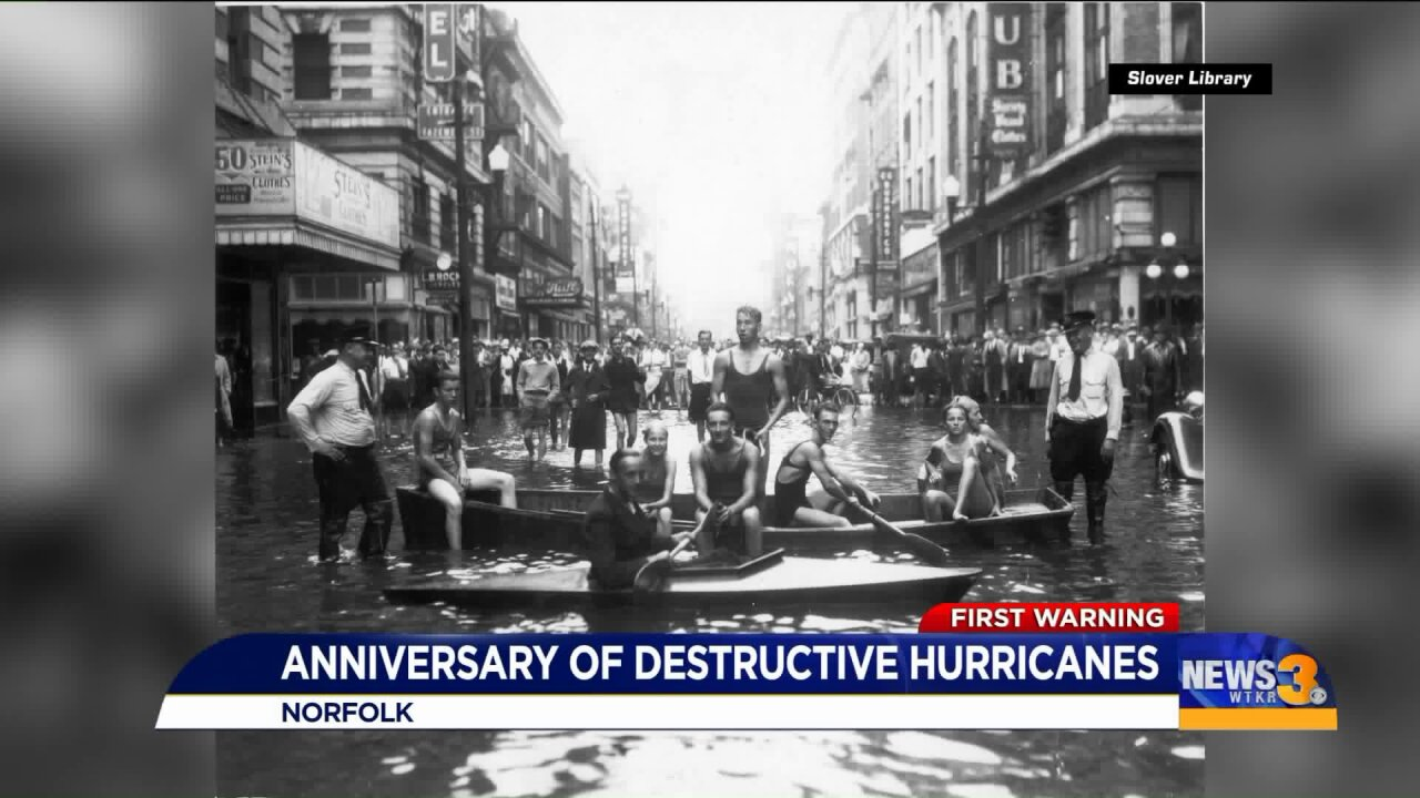 A few hurricanes remembered this week, one more destructive than the other