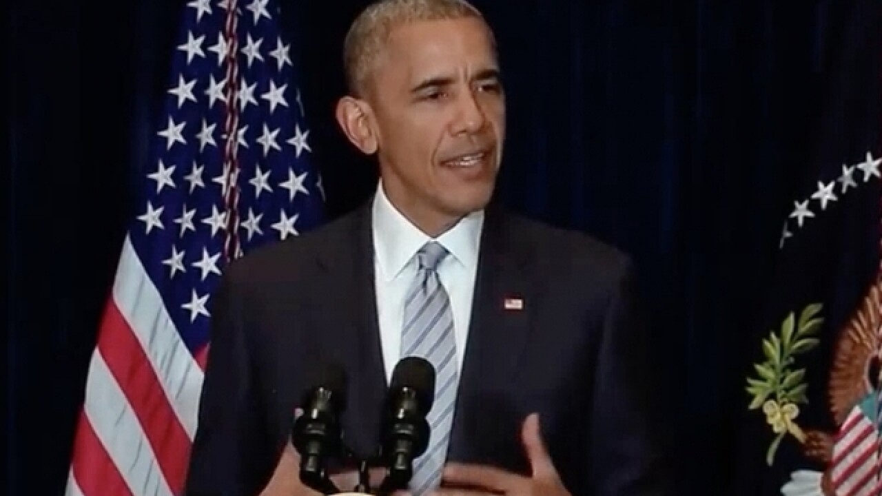 President Obama reacts to Nice attack, offers support to French government