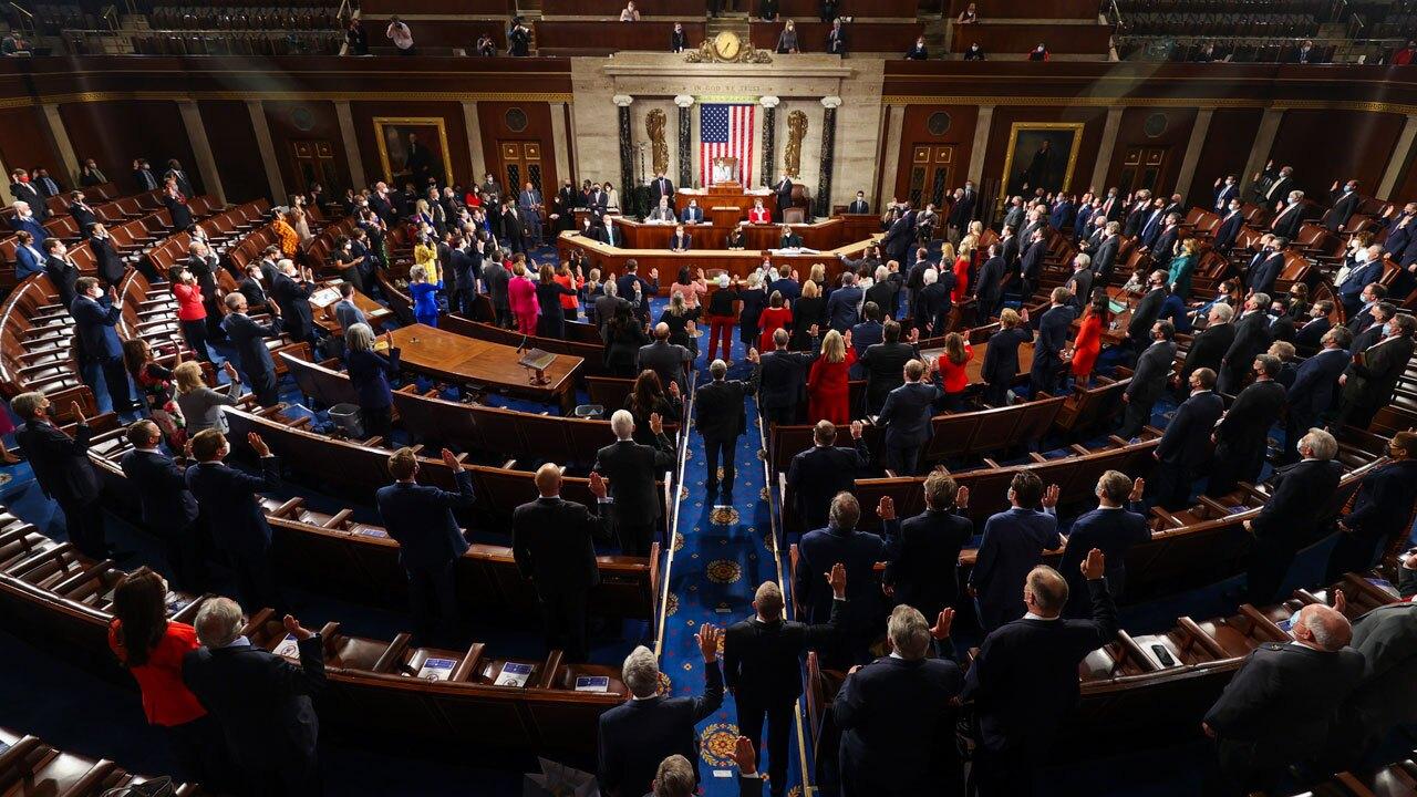 117th Congress at the U.S. Capitol