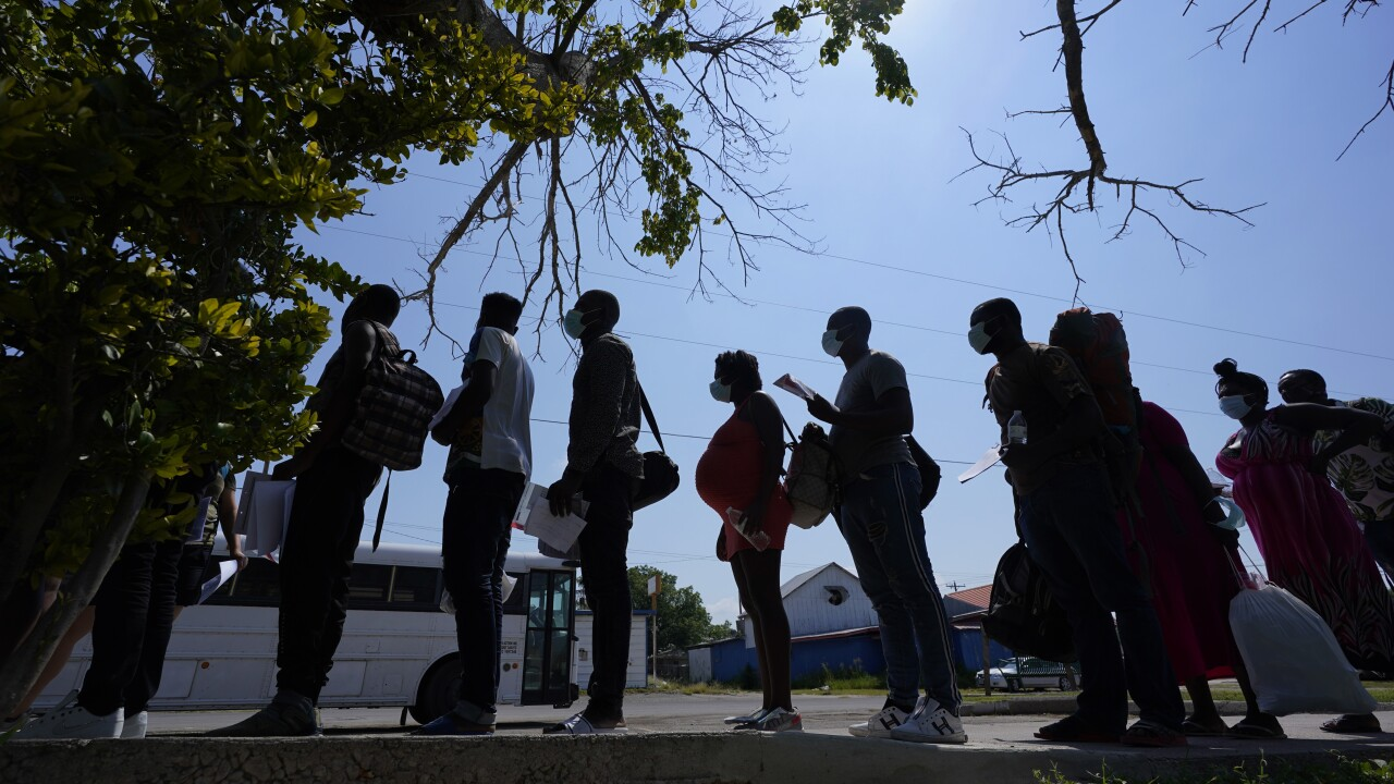 The Biden administration is proposing changing how asylum claims are handled. AP photo.