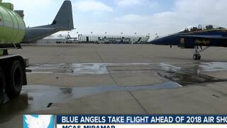 Blue Angels take flight ahead of 2018 Air Show