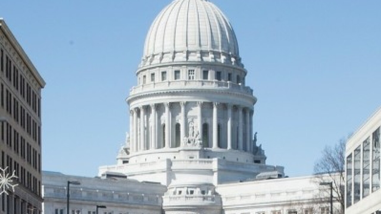 Wisconsin State Capitol State supreme court redistricting