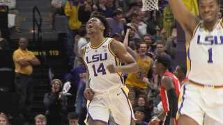 #13 LSU loses in overtime to Florida 82-77
