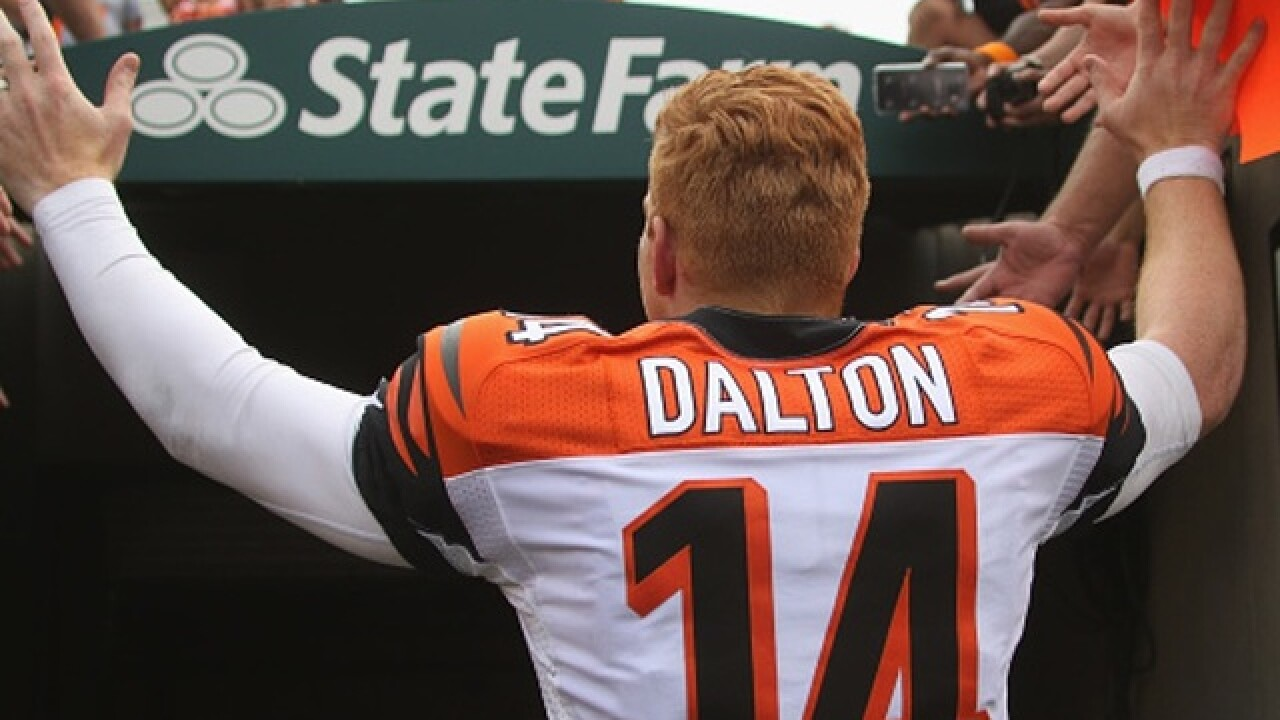 Andy Dalton is hugely inconsistent in November