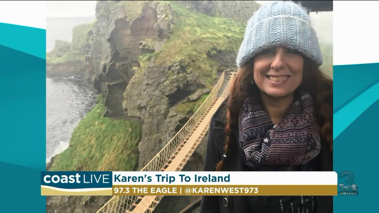 The latest in country music news with Karen West from Eagle 97 on CoastLive