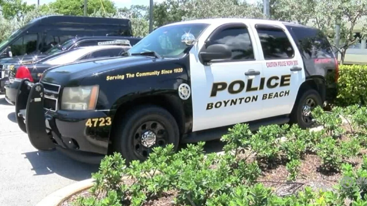 A Boynton Beach police cruiser in July 2021.jpg