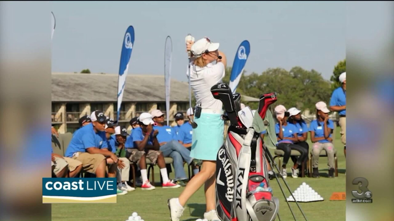 Talking with golf superstar Annika Sörenstam about The Masters and more on CoastLive