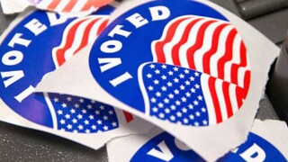 generic - voting stickers