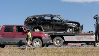 """A total miracle:"" Mother and five kids escape I-90 rollover crash in Bozeman with minor injuries"