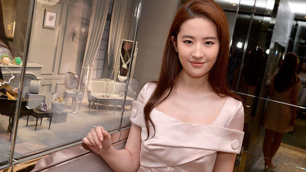 Disney casts Chinese actress Liu Yifei in live-action 'Mulan' film