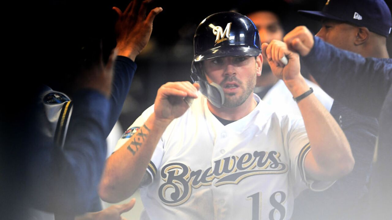 release date: a58bb d7a0d AP source: Moustakas, Brewers nearing deal for about $10M