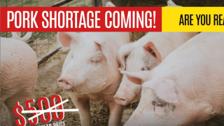 Tizer Meats predicting pork shortage in the fall