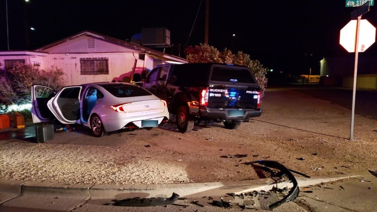 Buckeye PD Crash