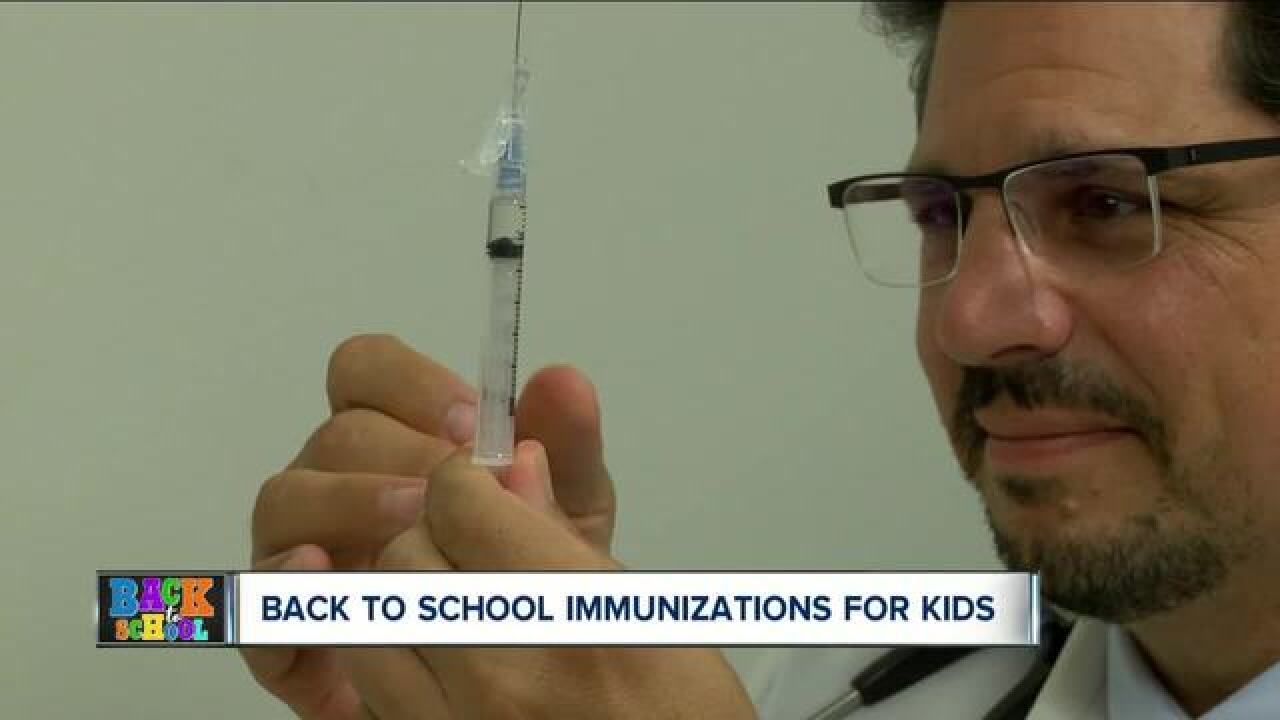 Clearing the air about immunizations