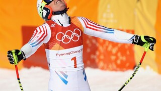 Lindsey Vonn's Olympic dreams dashed in women's super-G