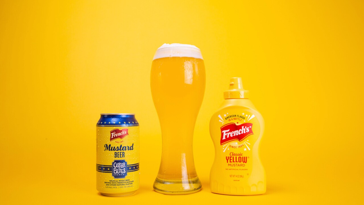 French's Mustard partners with Colorado brewery to launch mustard-flavored beer