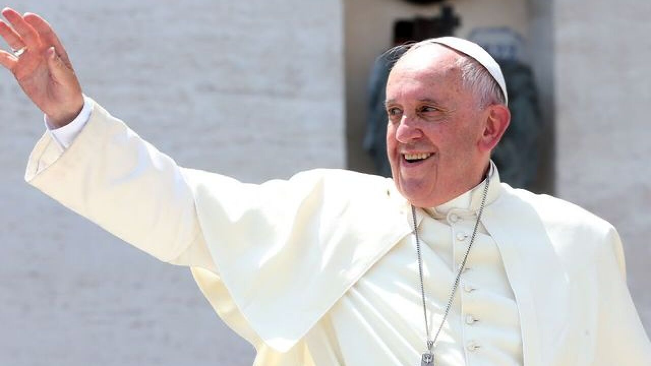 UPDATE: Pope Francis arrives in Maryland