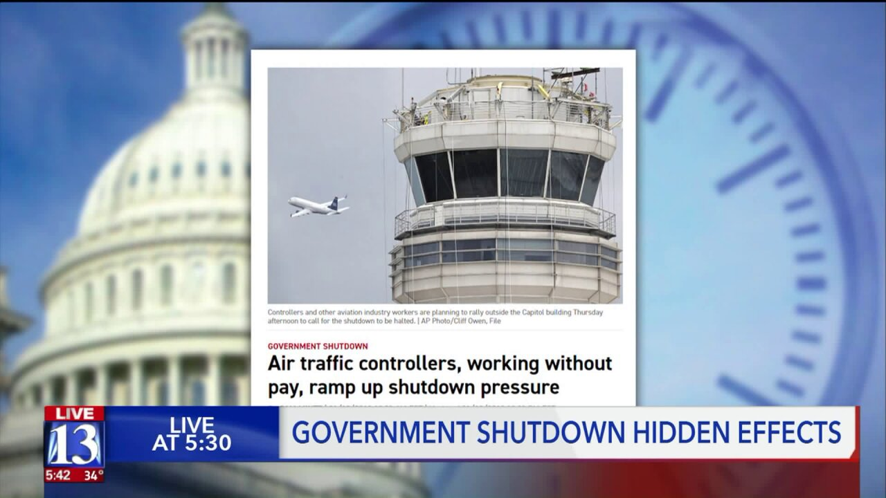 Shutdown impacts: from meatballs in Ogden to worldwide weather
