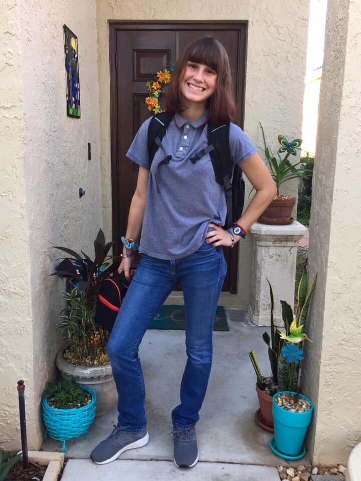 Happy first day, Aubrey!!! 