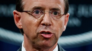 Deputy Attorney General Rod Rosenstein expected to be fired