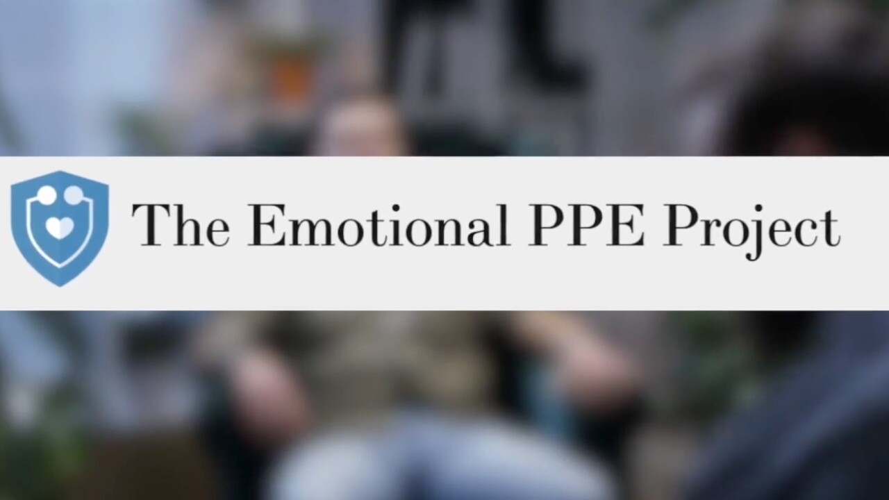 Emotional PPE Project connecting medical workers with mental health professionals