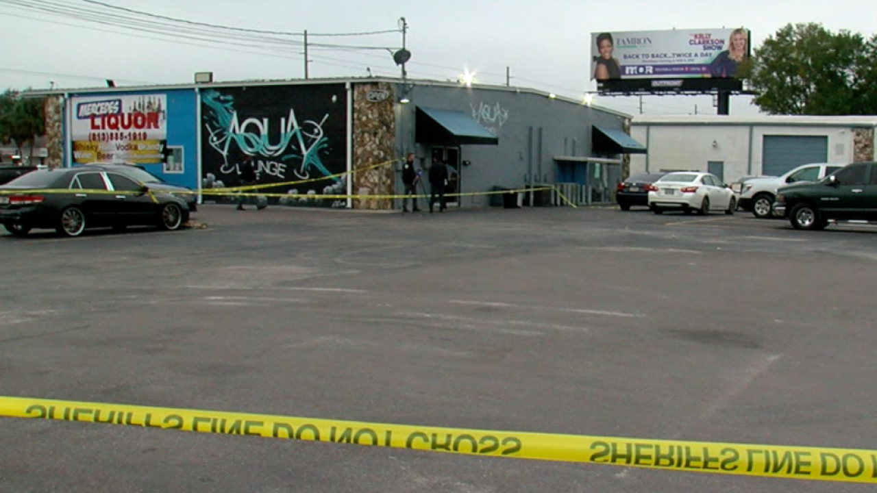 Aqua Lounge shooting Tampa